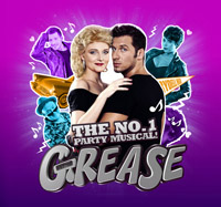 Grease musical turné 2017