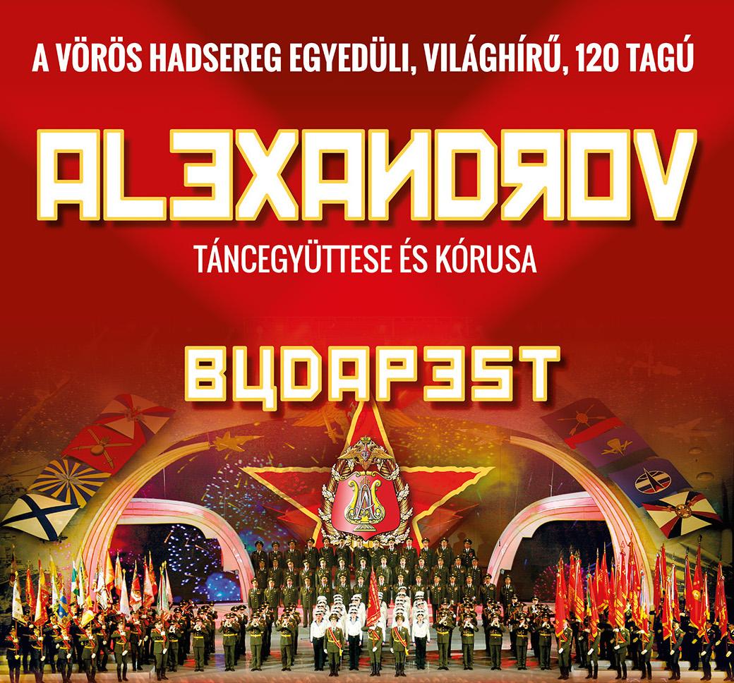 Alexandrov koncert 2017-ben Budapesten
