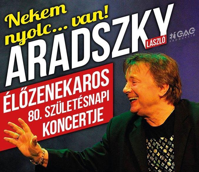 Aradszky László koncert 2017