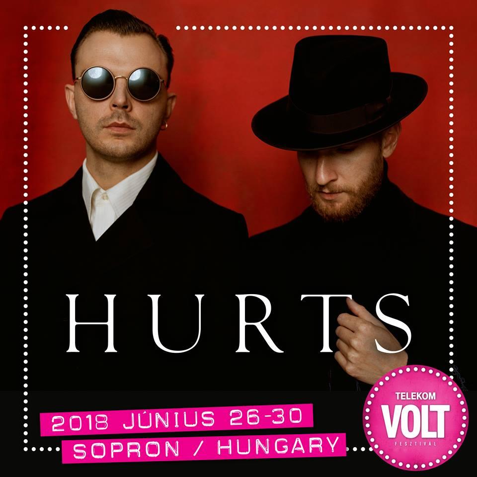 Hurts koncert - VOLT Fesztivál 2018