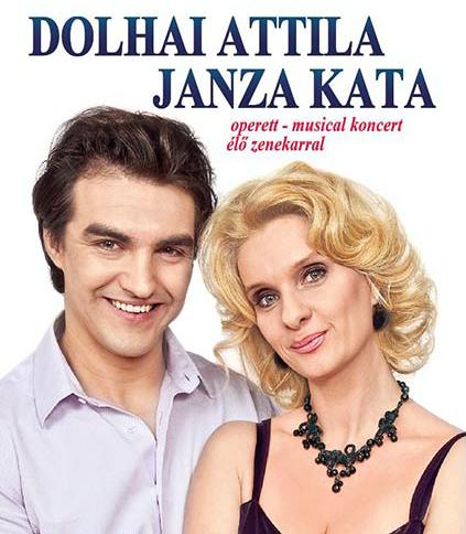 Dolhai Attila és Janza Kata koncert