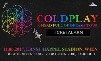 Coldplay koncert 2017