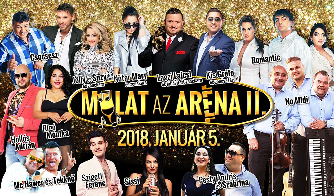 Mulat az Aréna 2018
