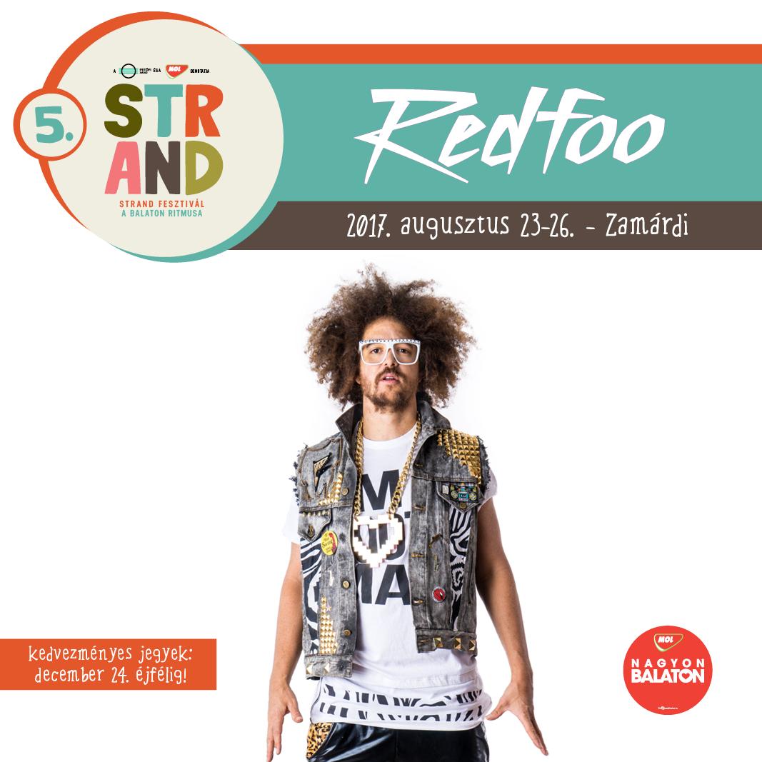 Redfoo koncert 2017
