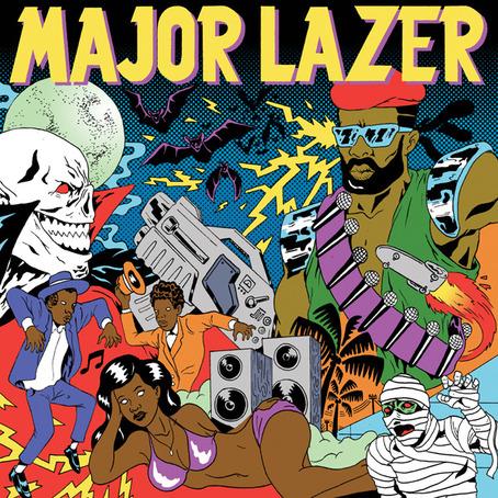 Major Lazer koncert - Sziget Fesztivál 2017