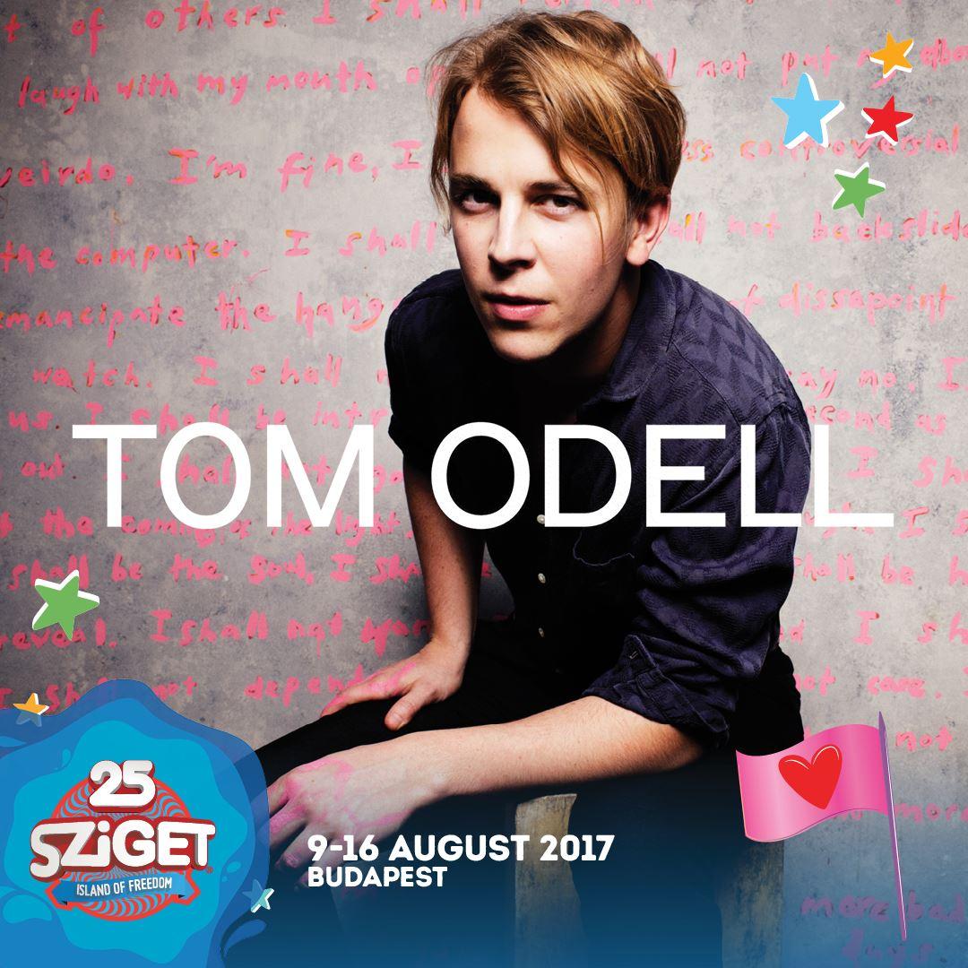 Tom Odell koncert 2017 - Sziget Fesztivál