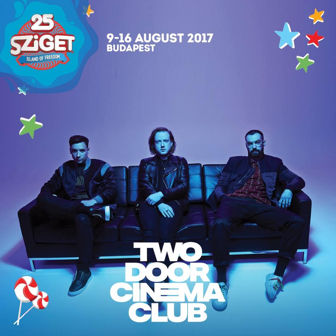 Two Door Cinema Club koncert 2017