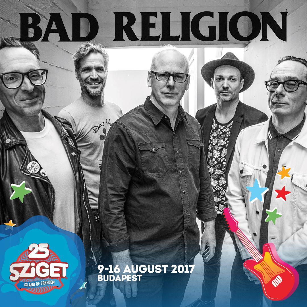 Bed Religion koncert - Sziget Fesztivál 2017