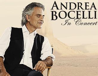 Andrea Bocelli koncert 2017 - Papp László Budapest Sportaréna