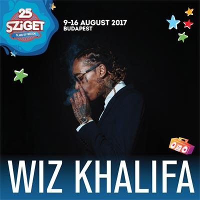 Wiz Khalifa koncert - Sziget 2017