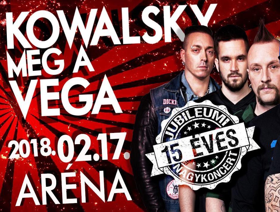 Kowalsky meg a Vega Aréna koncert 2018