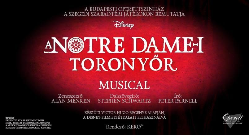 A Notre Dame-i toronyőr musical - Operettszínház