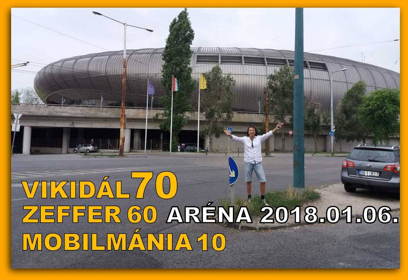 Mobilmánia koncert 2018 - Aréna