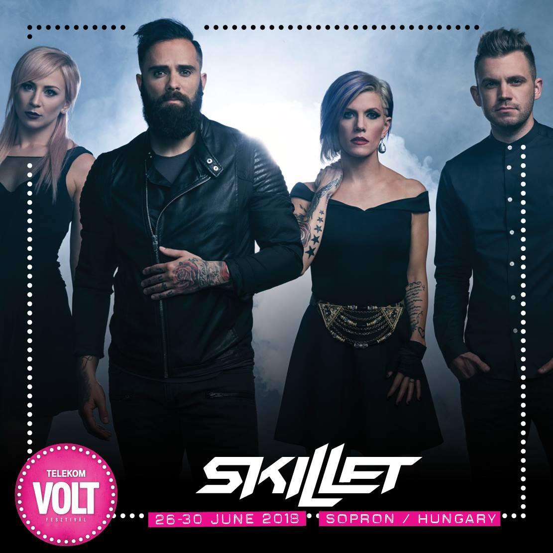 Skillet koncert - VOLT Fesztivál 2018