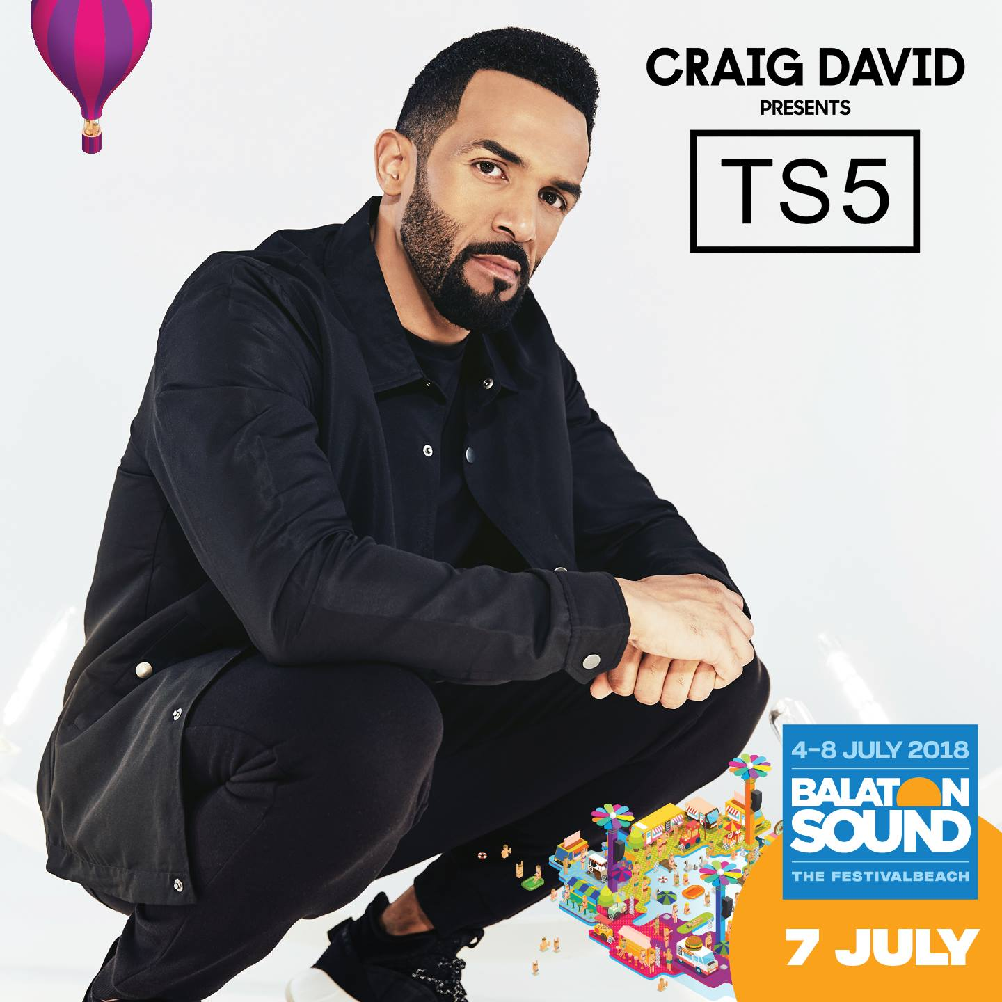 Craig David koncert - Balaton Sound 2018