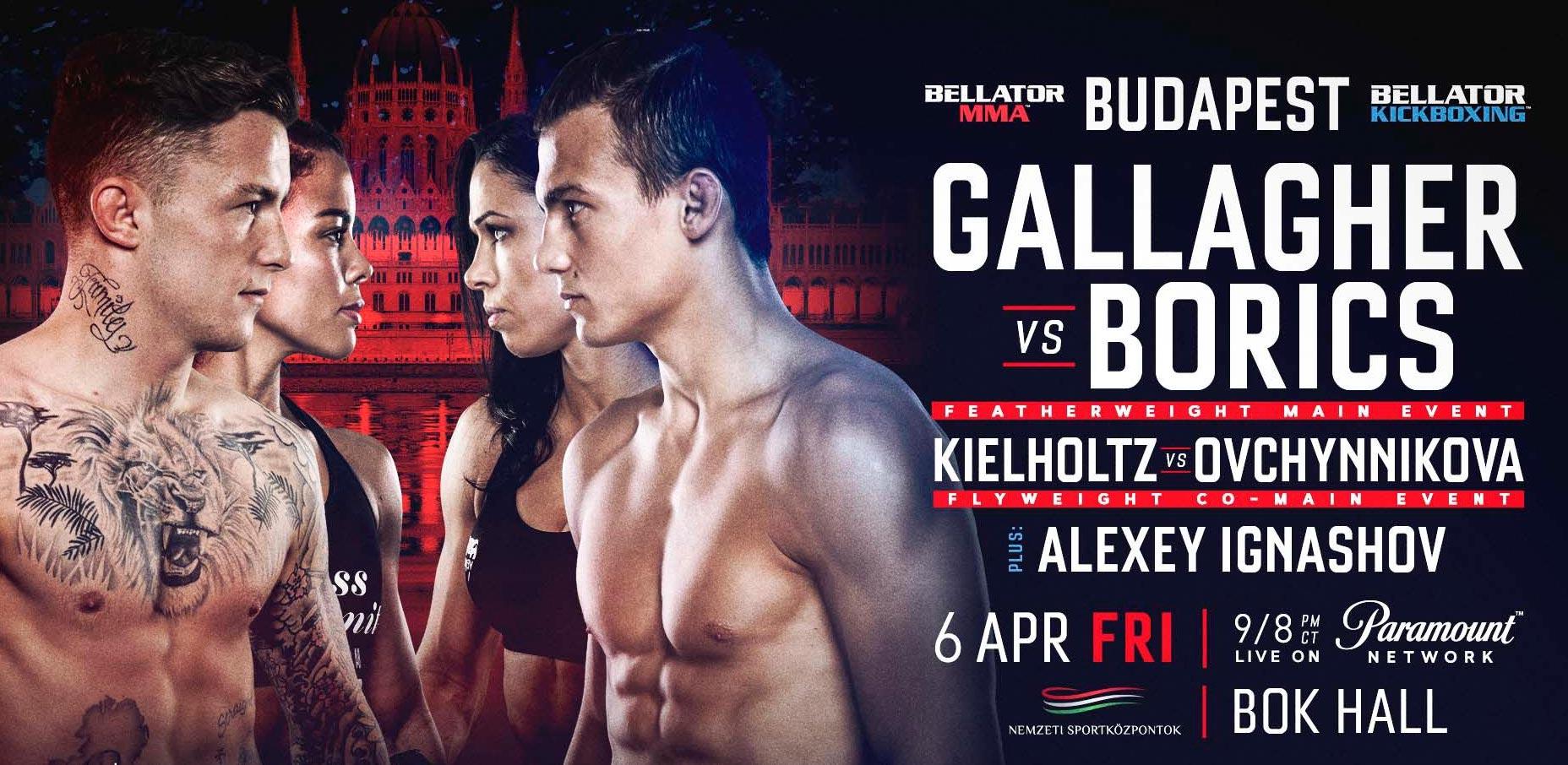 Bellator MMA gála 2018 - Budapest