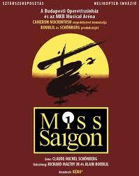 Miss Saigon musical jegyek